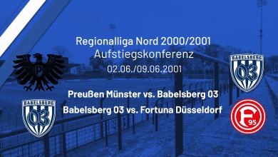 Bild von Aufstiegskonferenz RL Nord Spieljahr 2000/2001- Preußen Münster / Fortuna Düsseldorf